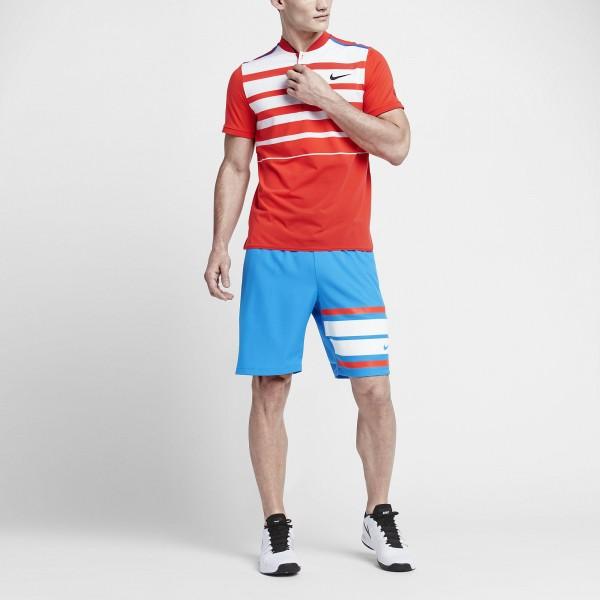 Men's tennis shirt NIKE PREMIER ROGER FEDERER 728951-696