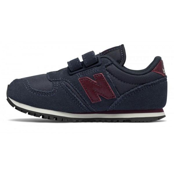 NEW BALANCE 420 HOOK AND LOOP NAVY / BURGUNDY KE42...