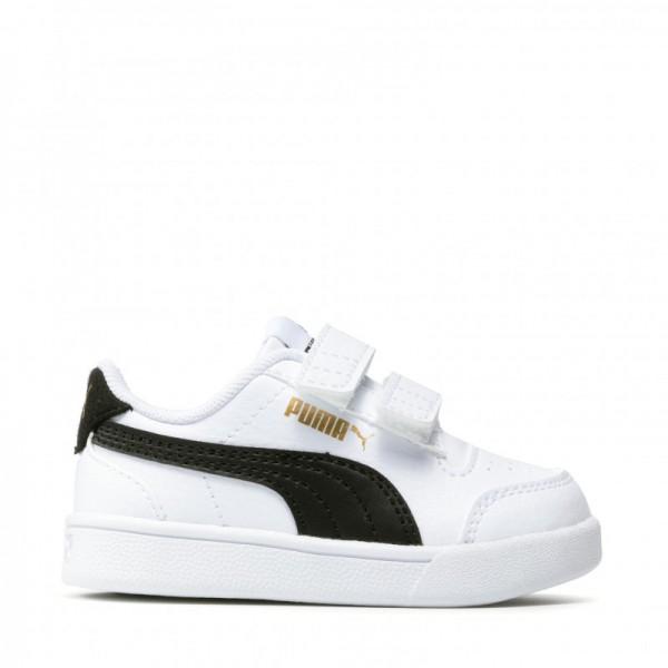 PUMA Shuffle V Inf 375690 02  White/Black/Gold