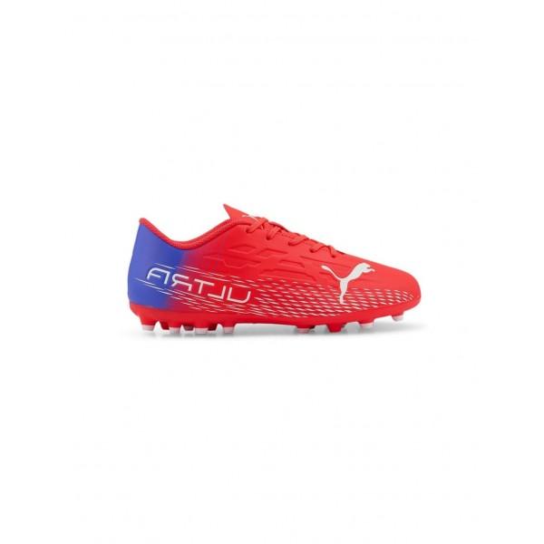 PUMA ULTRA 4.3 MG RED FOOTBALL BOOTS KIDS  106539 ...